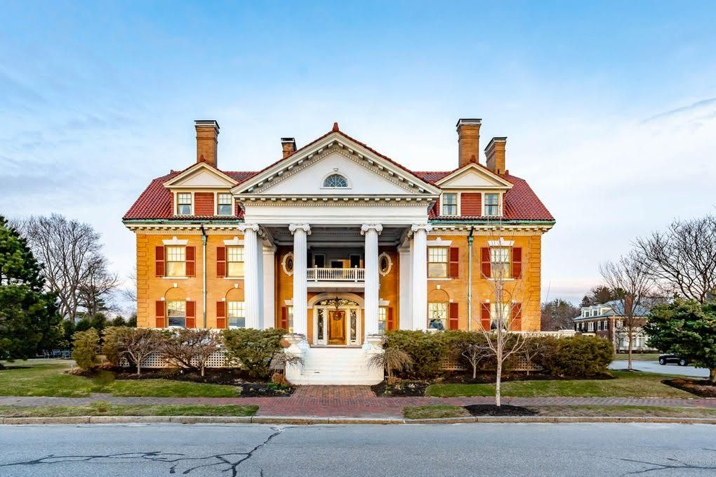 1912 Mansion For Sale In Portland Maine