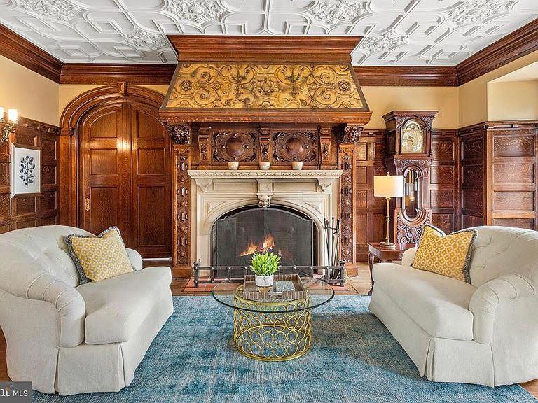 1903 Tudor Revival For Sale In Saint Davids Pennsylvania