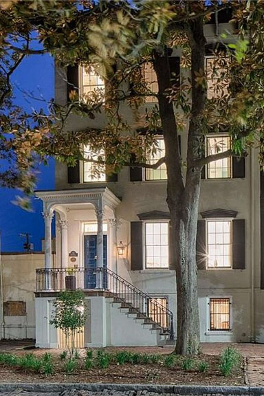1848 Greek Revival For Sale In Savannah Georgia