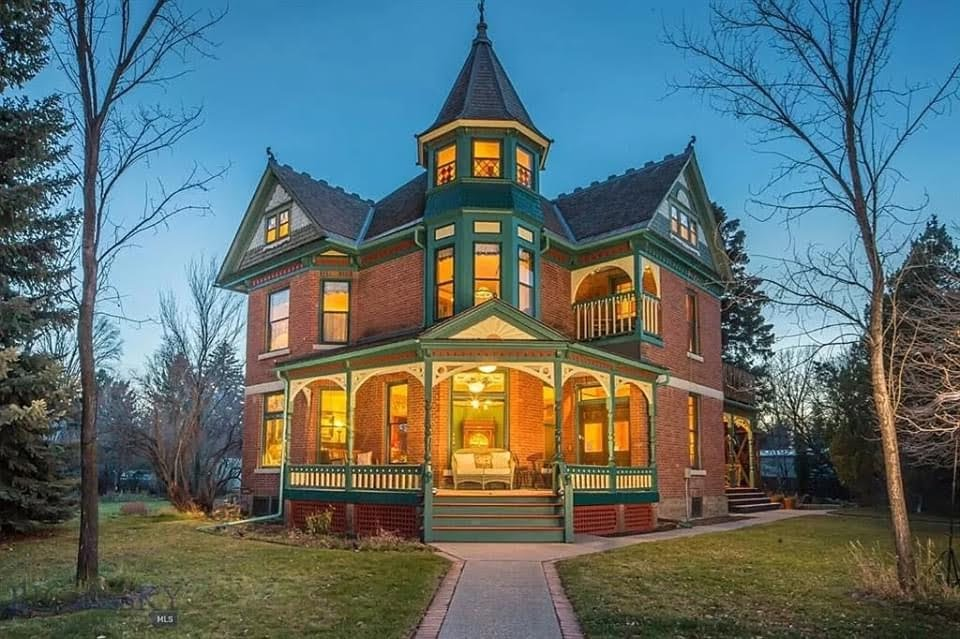 1897 Queen Anne For Sale In Bozeman Montana