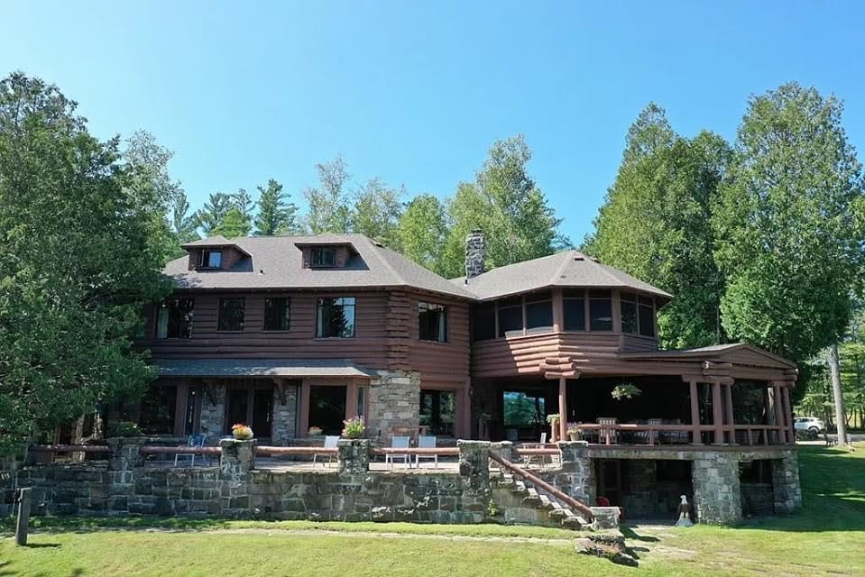 1937 Lodge For Sale In Blue Mountain lake New York