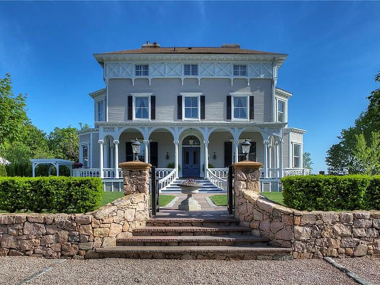 1857 Italianate For Sale In Middletown Rhode Island