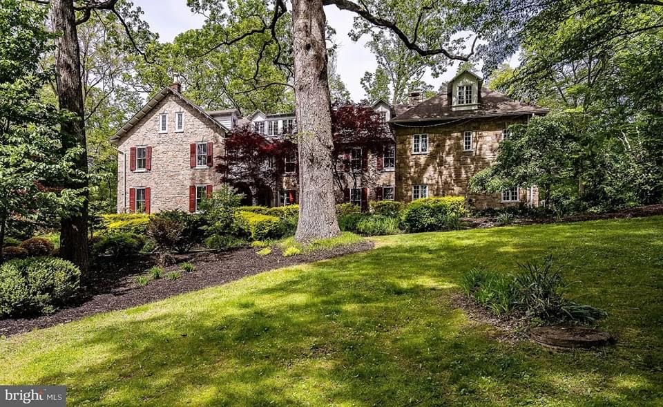 1800 Stone House For Sale In Cheyney Pennsylvania