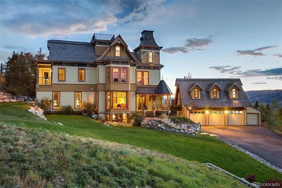 1882 Victorian For Sale In Steamboat Springs Colorado