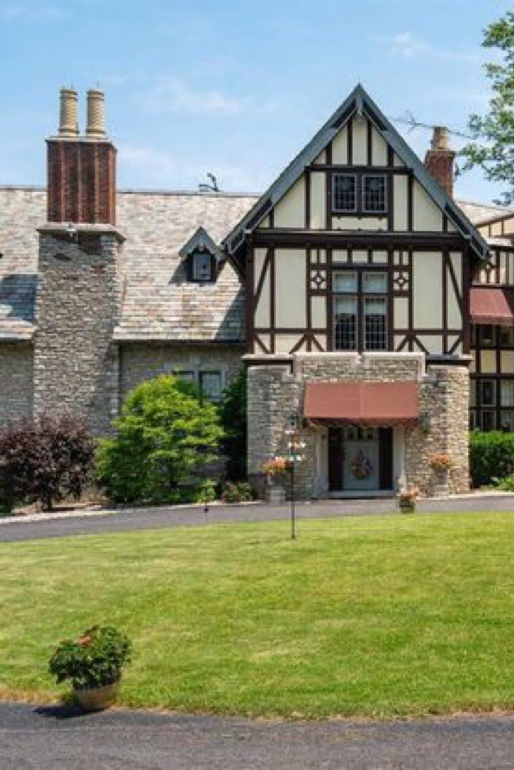 1922 Tudor Revival For Sale In Tiffin Ohio