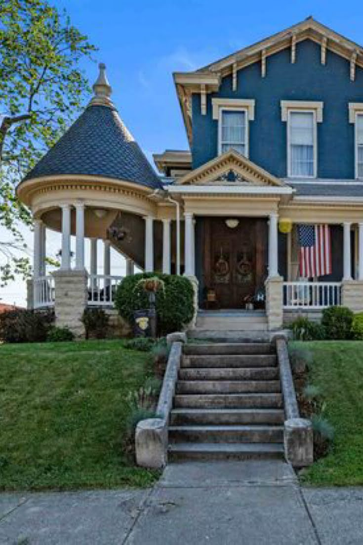 1890 Victorian For Sale In Union City Indiana