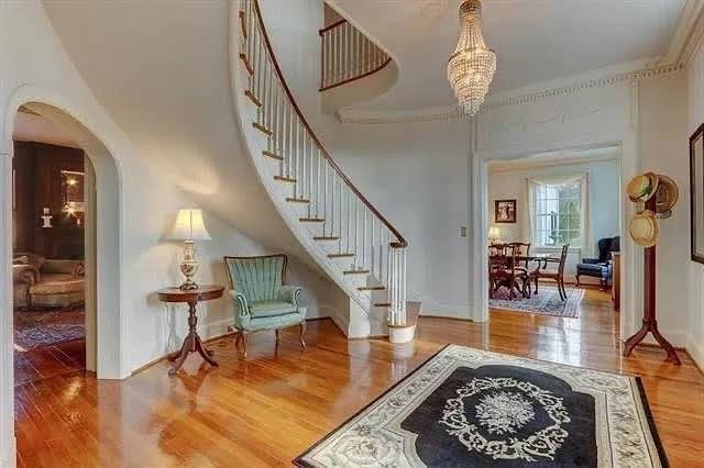 1936 Colonial Revival For Sale In Eden North Carolina