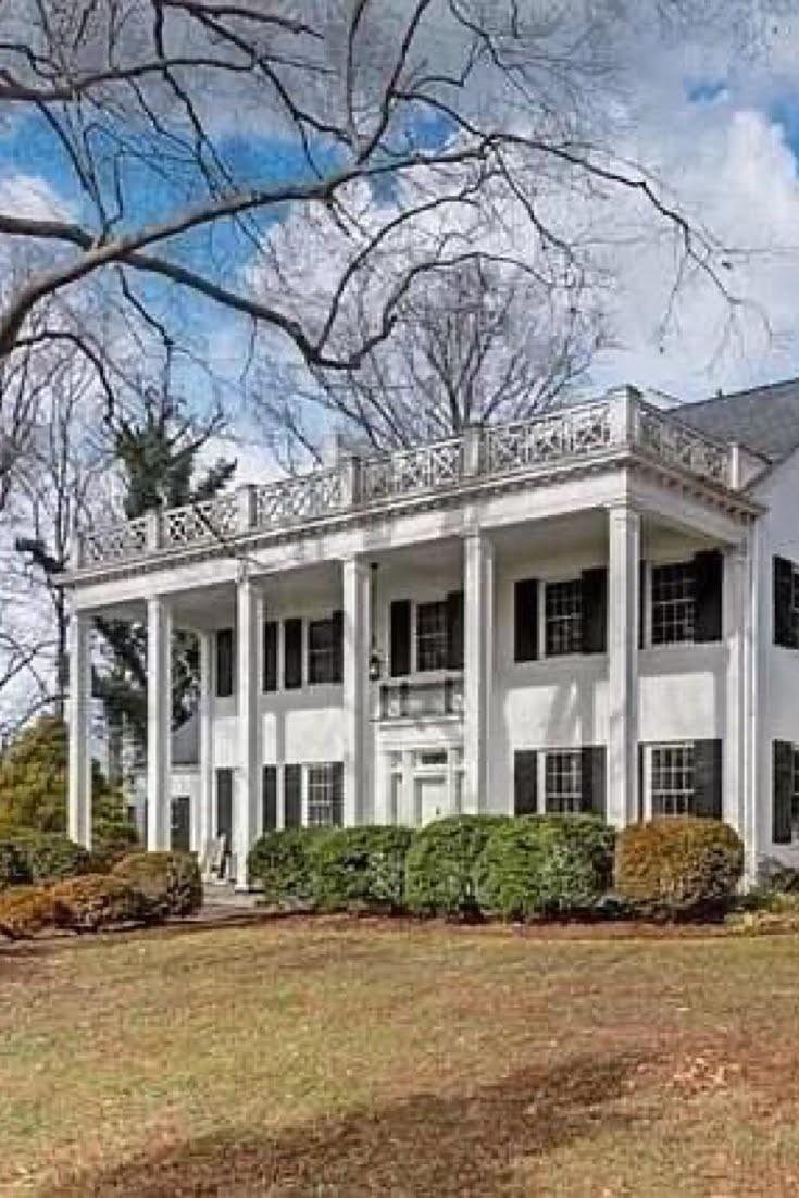 1936 Colonial Revival For Sale In Eden North Carolina