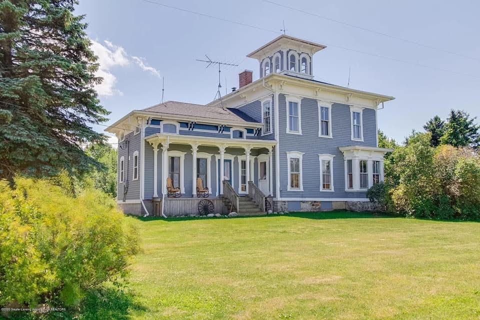 1857 Italianate For Sale In Ovid Michigan