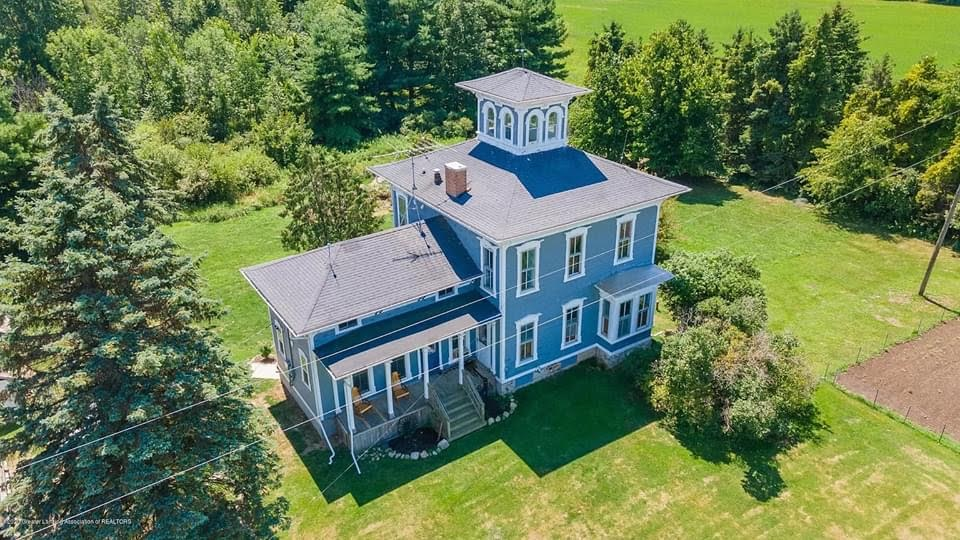 1857 Italianate For Sale In Ovid Michigan