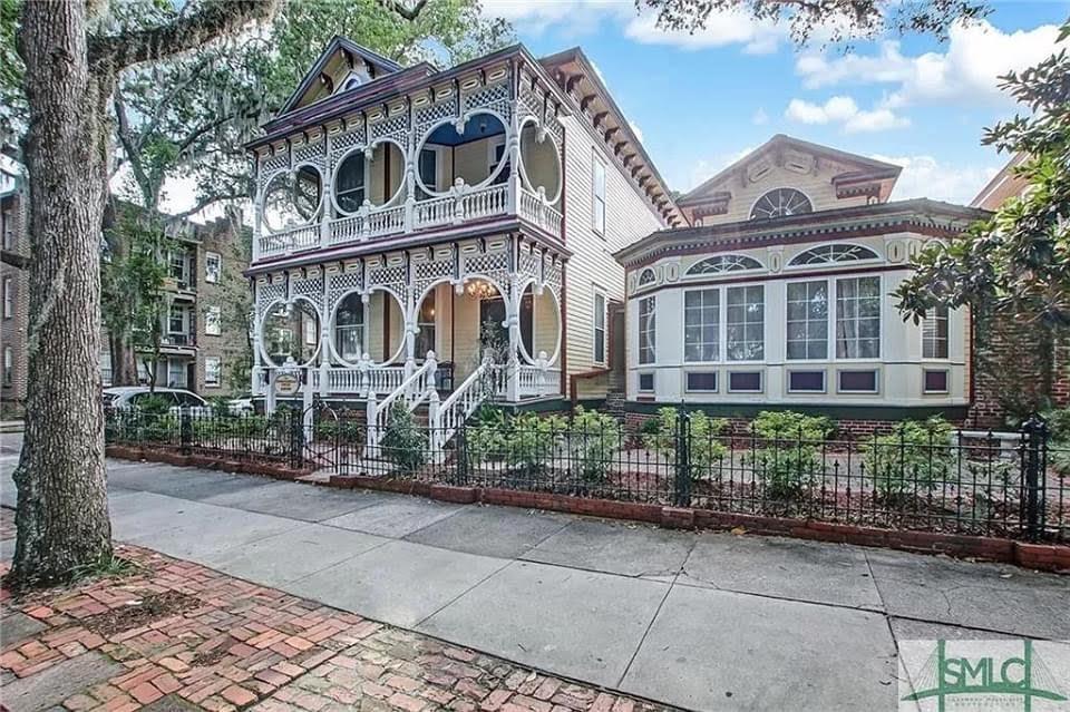 1899 The Gingerbread House For Sale In Savannah Georgia