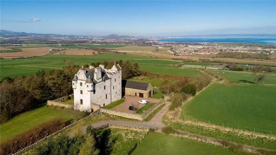 14th Century Fa'side Castle For Sale In East Lothian Scotland