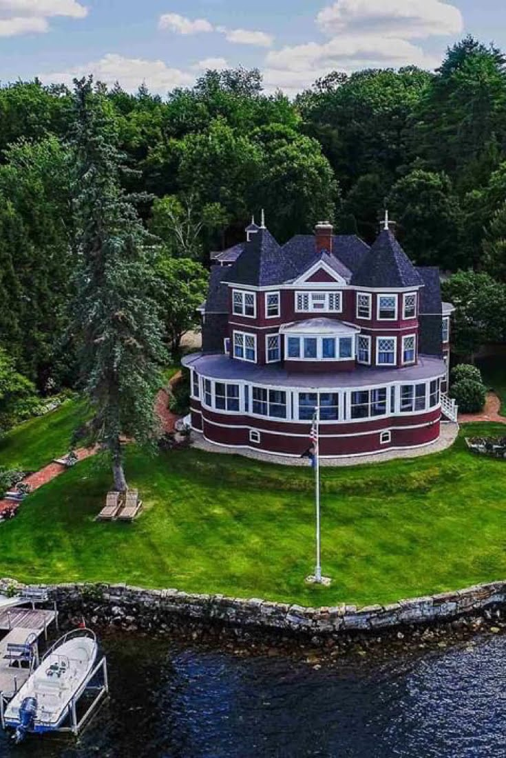 1898 Waterfront Victorian For Sale In Spofford New Hampshire