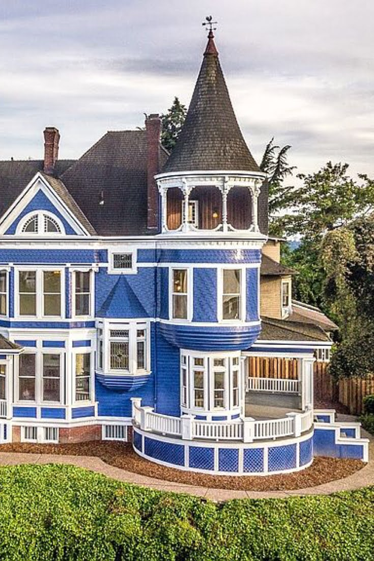 1892 Johan Poulsen House For Sale In Portland Oregon