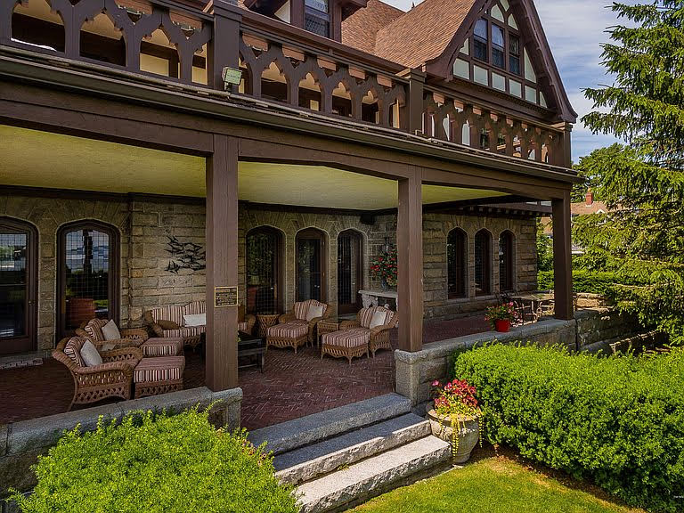 1904 Tudor Revival For Sale In Bar Harbor Maine