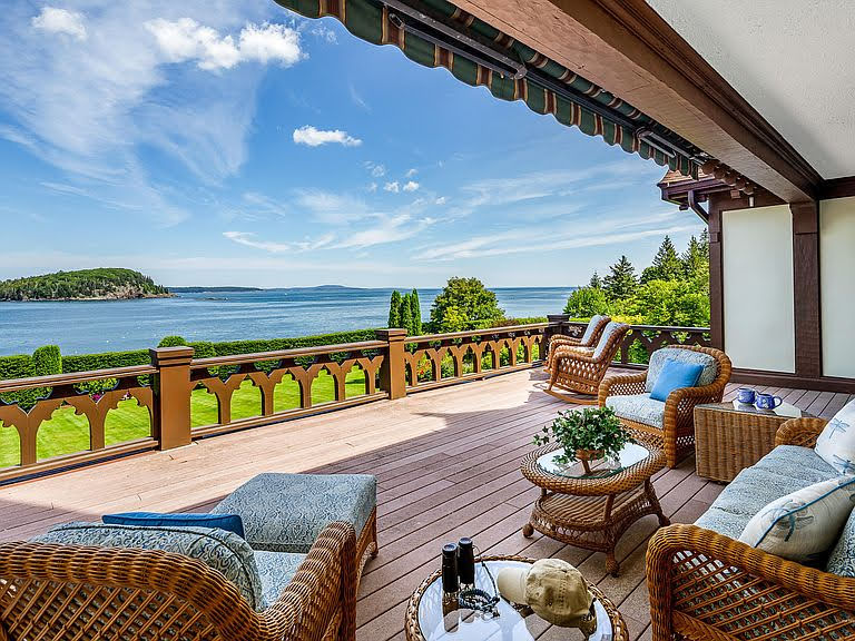 1904 Tudor Revival For Sale In Bar Harbor Maine