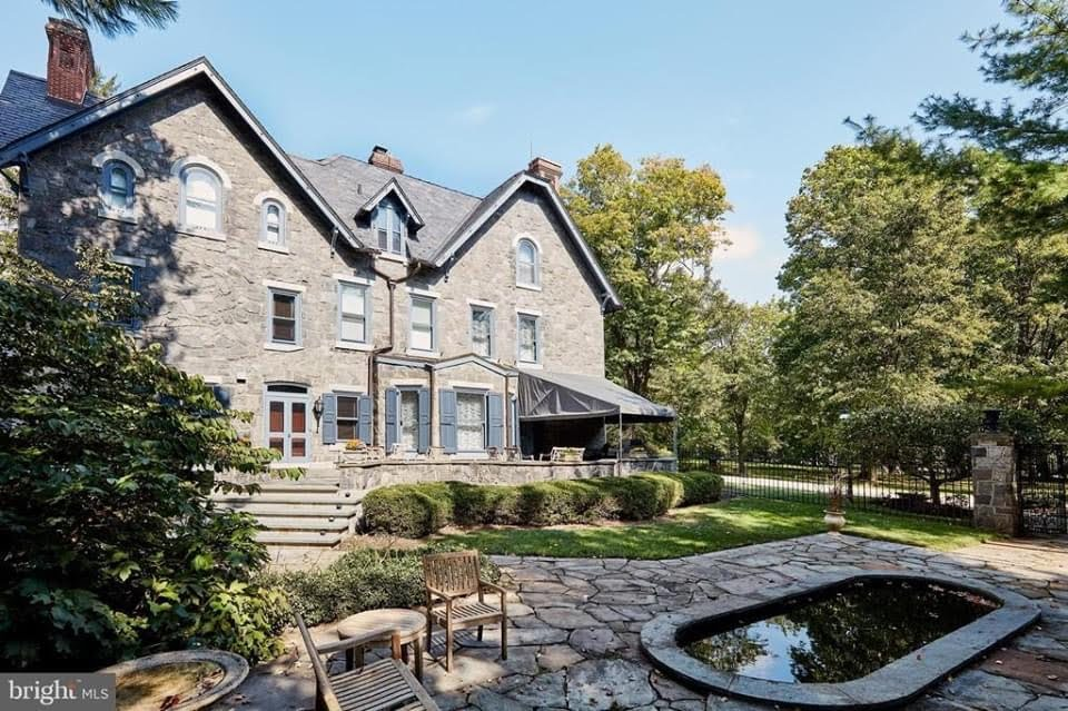 1880 Stone House For Sale In Villanova Pennsylvania