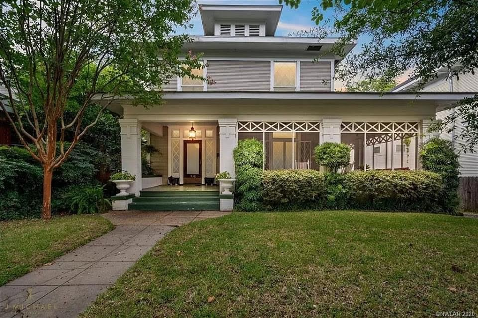 1901 Foursquare For Sale In Shreveport Louisiana — Captivating Houses