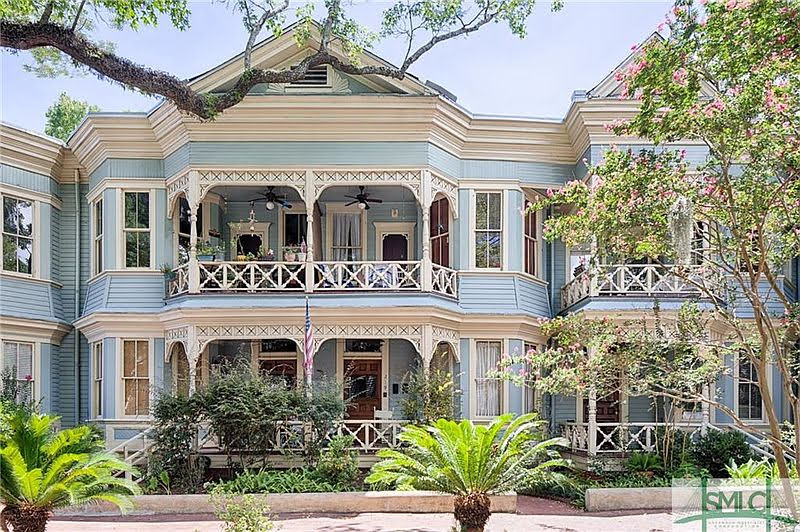 1900 Victorian For Sale In Savannah Georgia