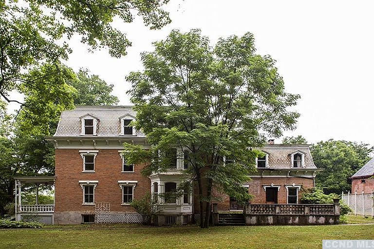 1870 Harder Mansion For Sale In Philmont New York