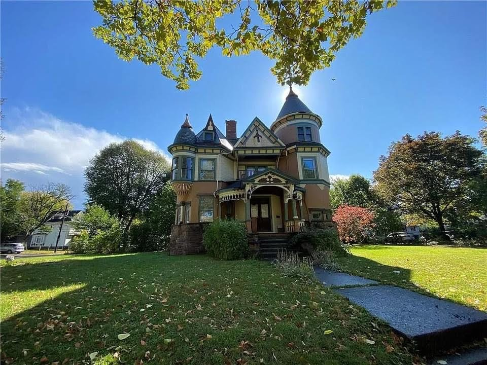 1871 Victorian For Sale In Rochester New York