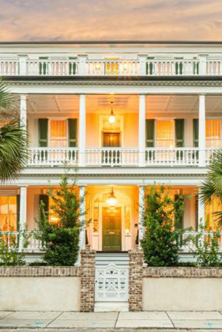 1835 Antebellum For Sale In Charleston South Carolina