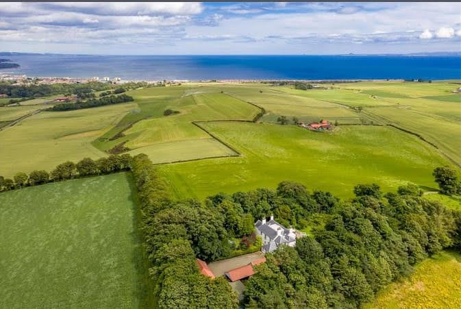 15th Century Piteadie Castle and House For Sale In Fife Scotland
