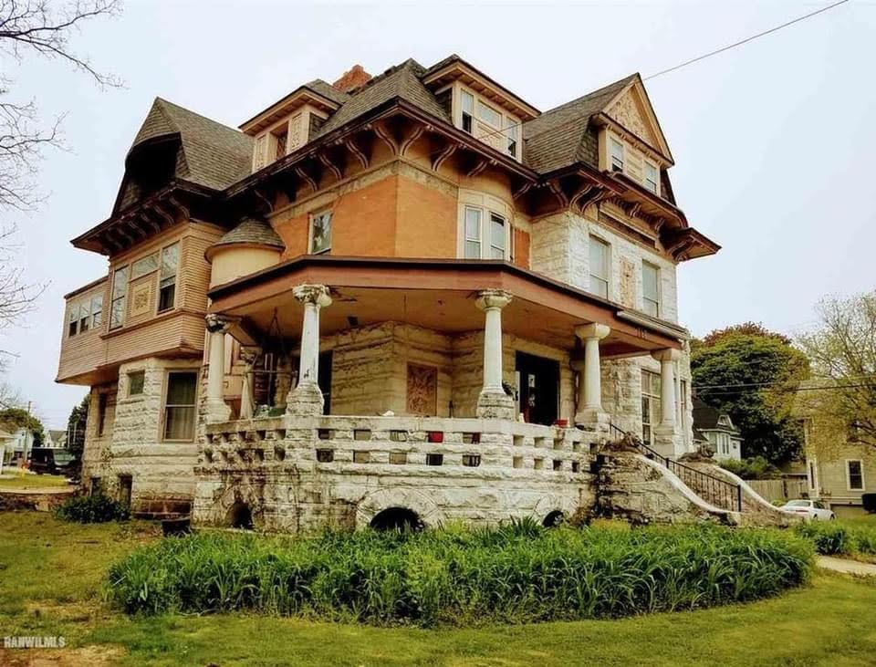 1882 Victorian For Sale In Freeport Illinois