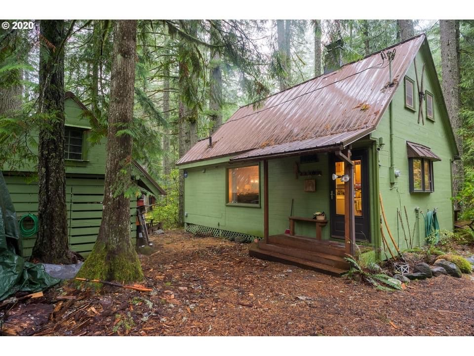 1950 Cabin For Sale In Government Camp Oregon