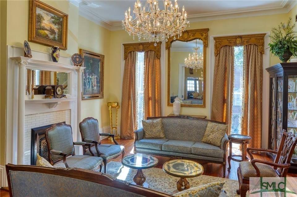 1869 Second Empire For Sale In Savannah Georgia