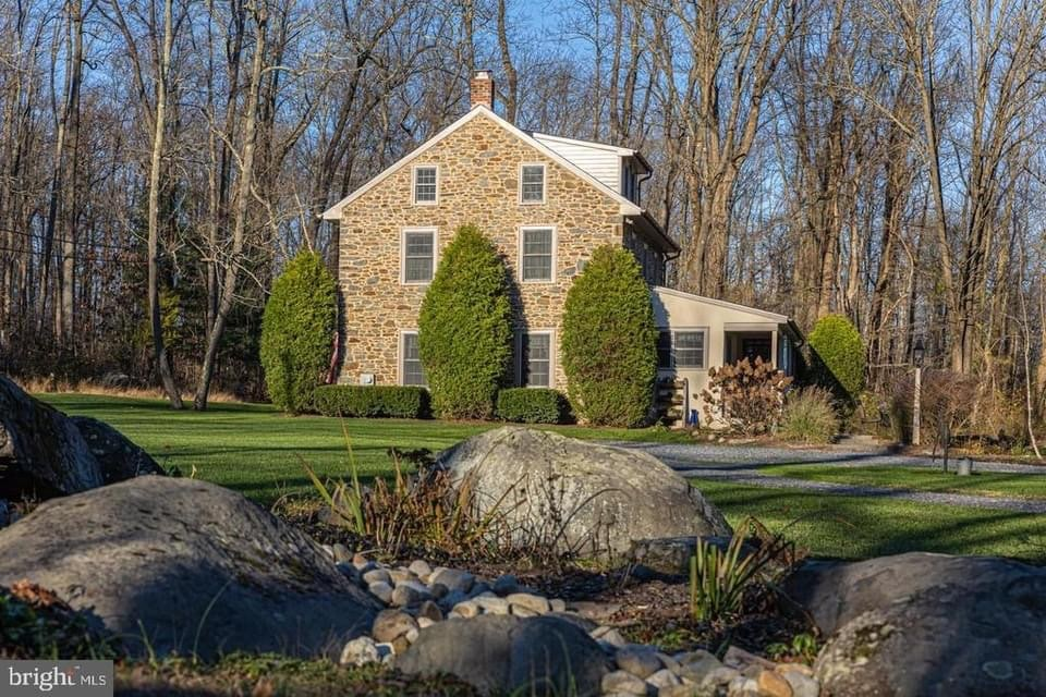 1850 Stone House For Sale In Sellersville Pennsylvania