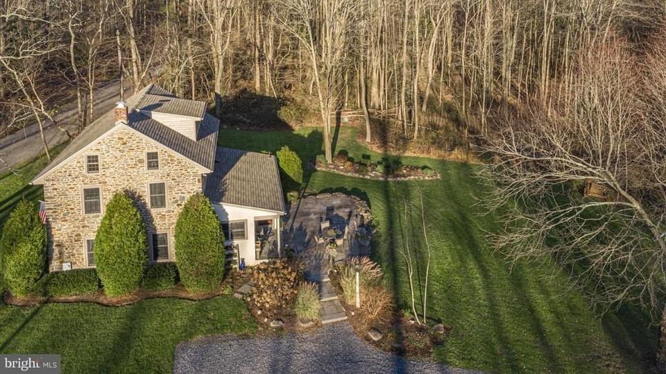 1850 Stone House For Sale In Sellersville Pennsylvania