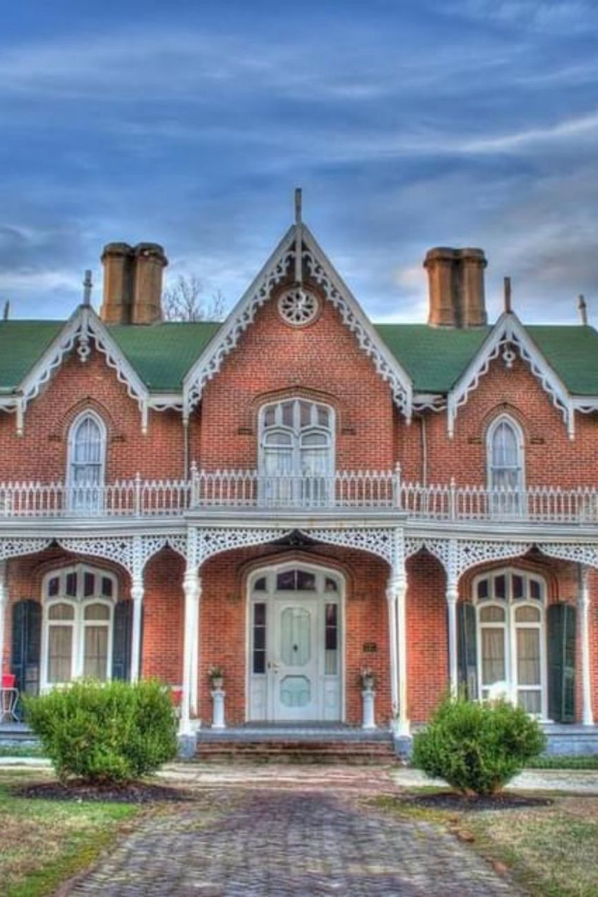 1857 Gothic Revival For Sale In Holly Springs Mississippi