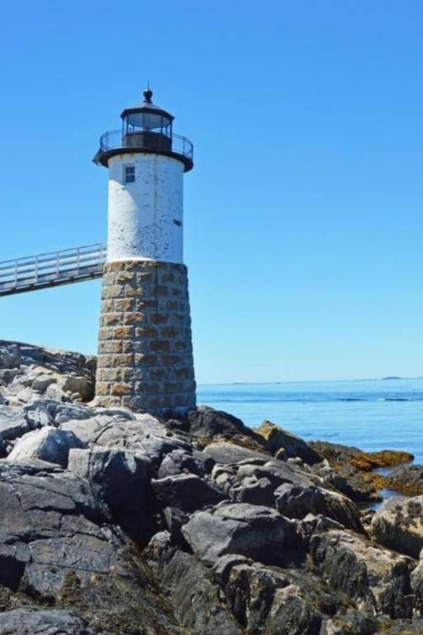 1907 Historic Lightkeepers House For Sale In Isle Au Haut Maine