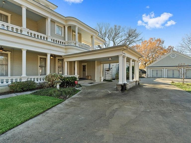 1883 The Cartright House For Sale In Terrell Texas