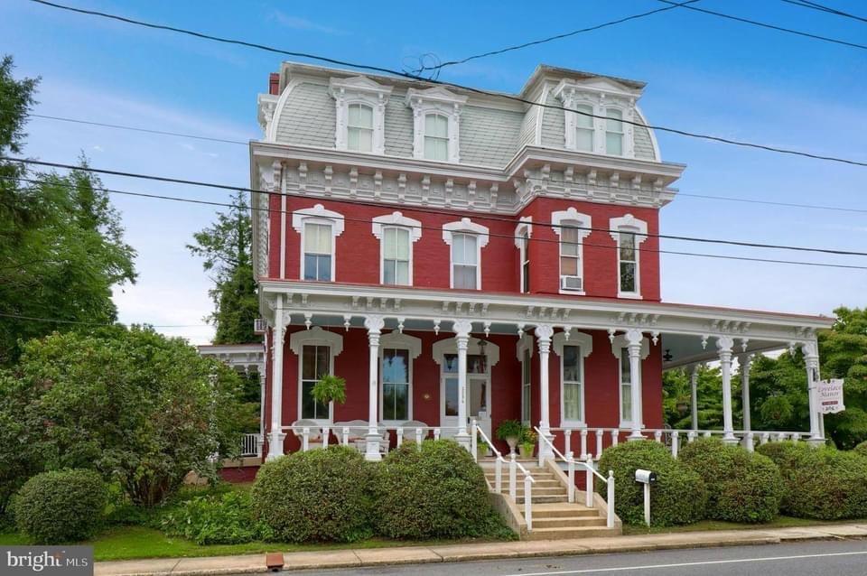 1882 Second Empire For Sale In Lancaster Pennsylvania