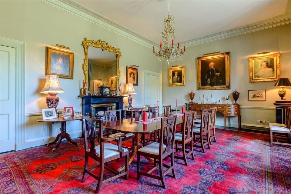 16th Century Coupland Castle For Sale In Northumberland England