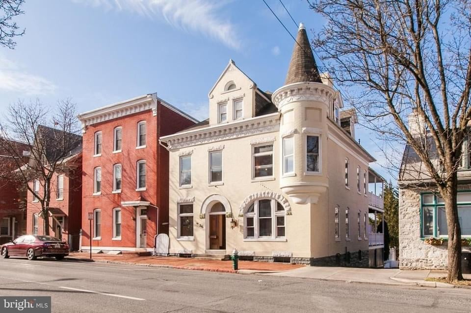 1897 Victorian For Sale In Hagerstown Maryland