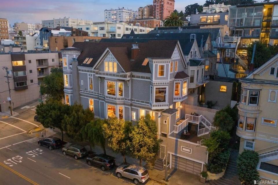 1892 Victorian For Sale In San Francisco California