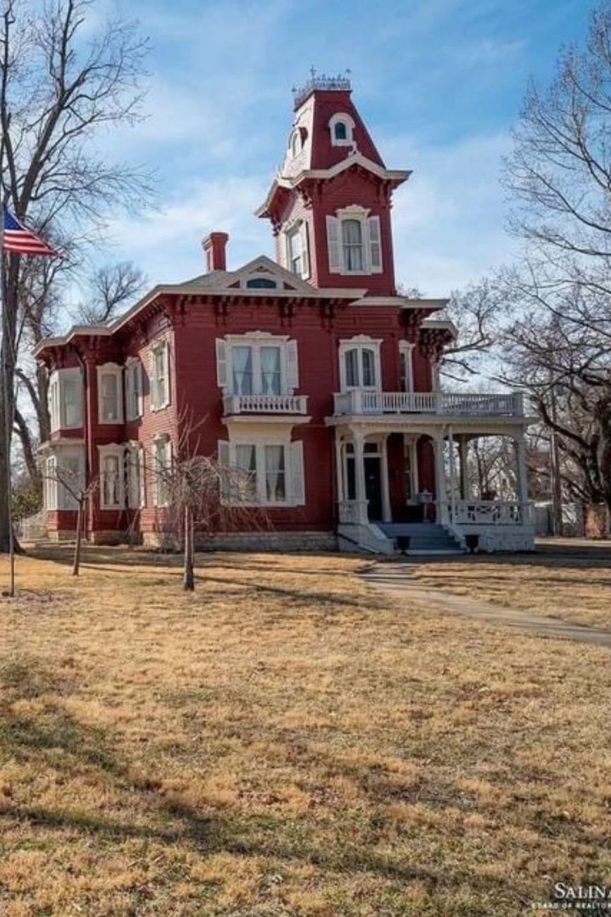 1885 Italianate For Sale In Salina Kansas
