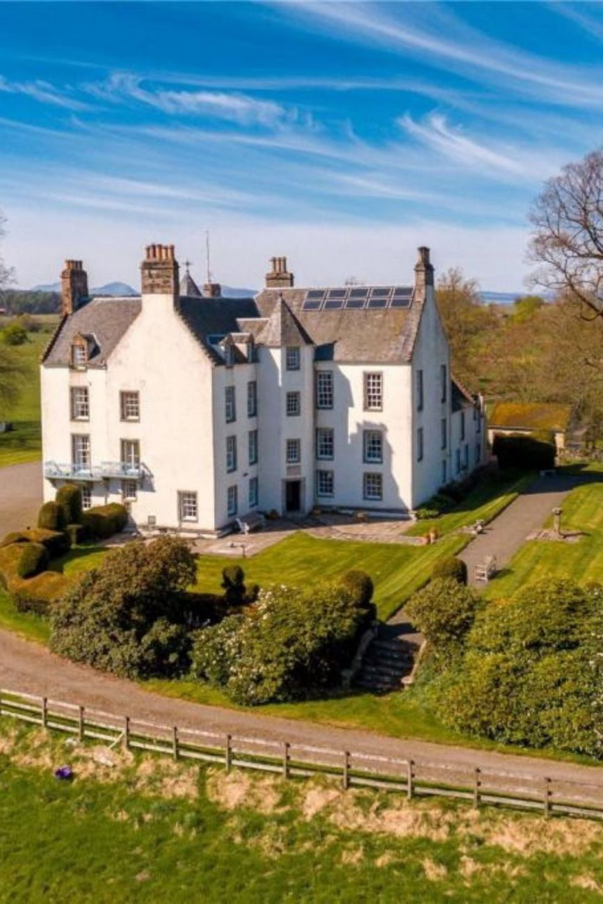 1768 Auchenbowie House For Sale In Stirling Scotland