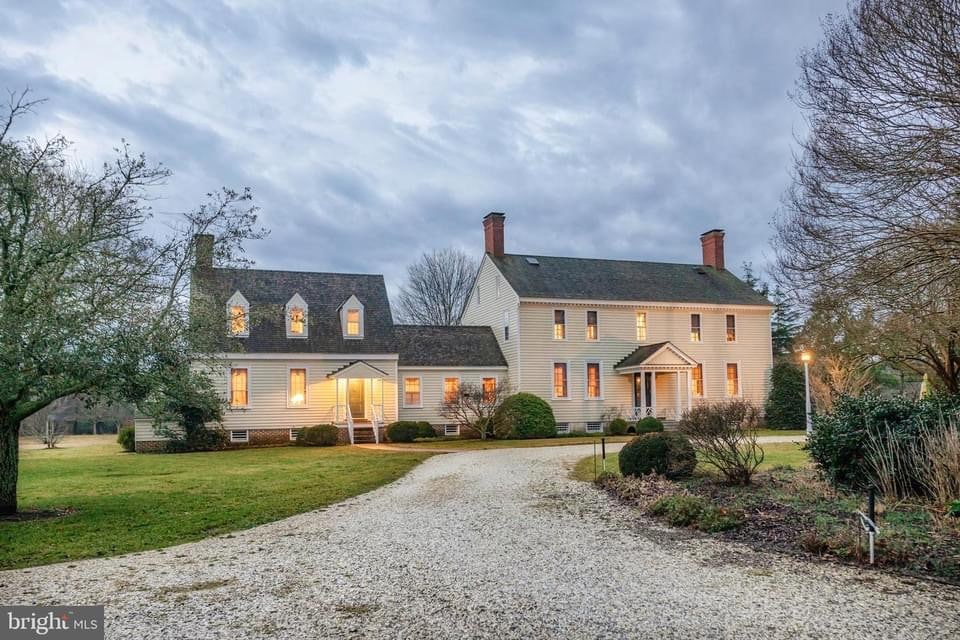 1776 Colonial For Sale In Exmore Virginia