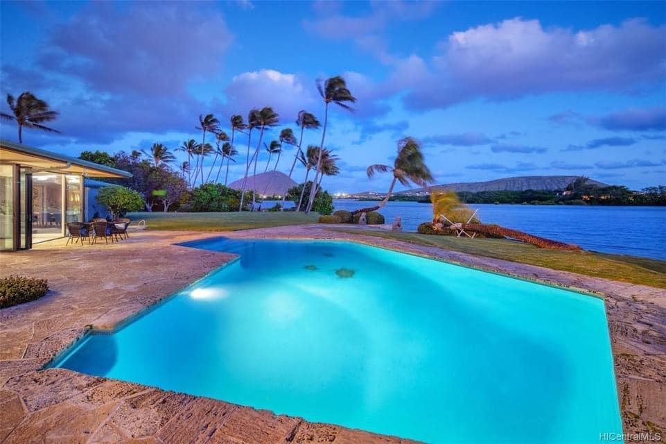 1964 Waterfront Home For Sale In Honolulu Hawaii