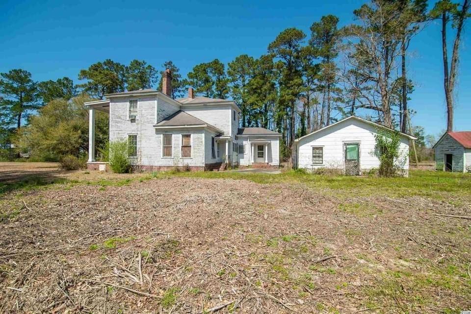 1901 Fixer-Upper For Sale In Hemingway South Carolina