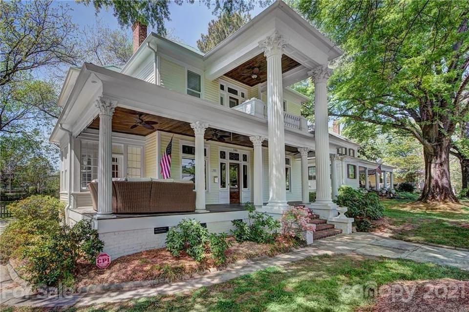 1901 Neoclassical For Sale In Monroe North Carolina