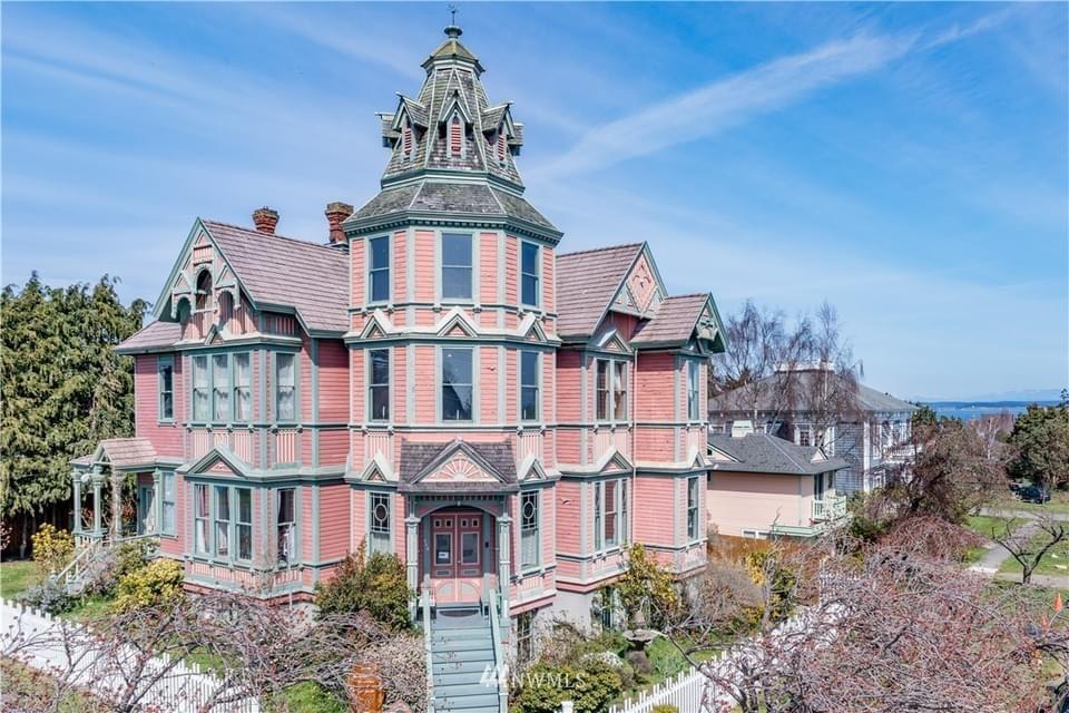 1889 Starrett House For Sale In Port Townsend Washington