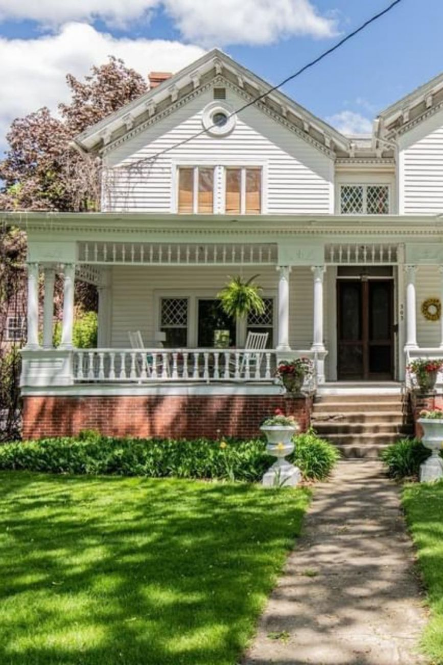 1876 Italianate For Sale In Princeton Illinois