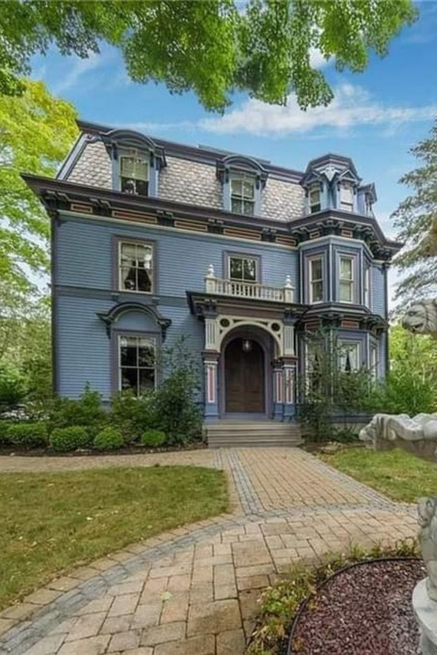 1872 Second Empire For Sale In East Hampton Connecticut