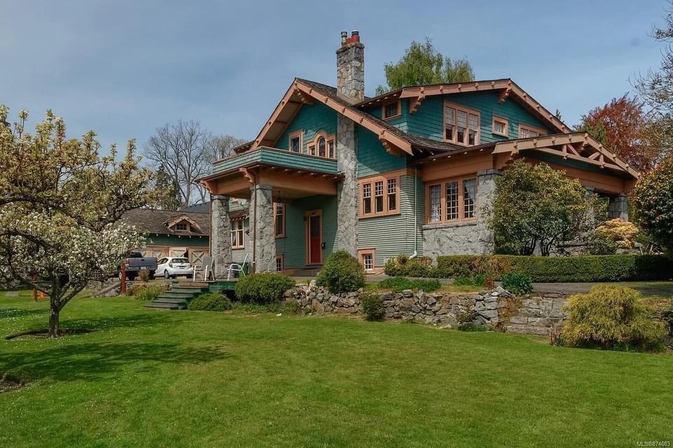 1914 Craftsman For Sale In Victoria British Columbia Canada