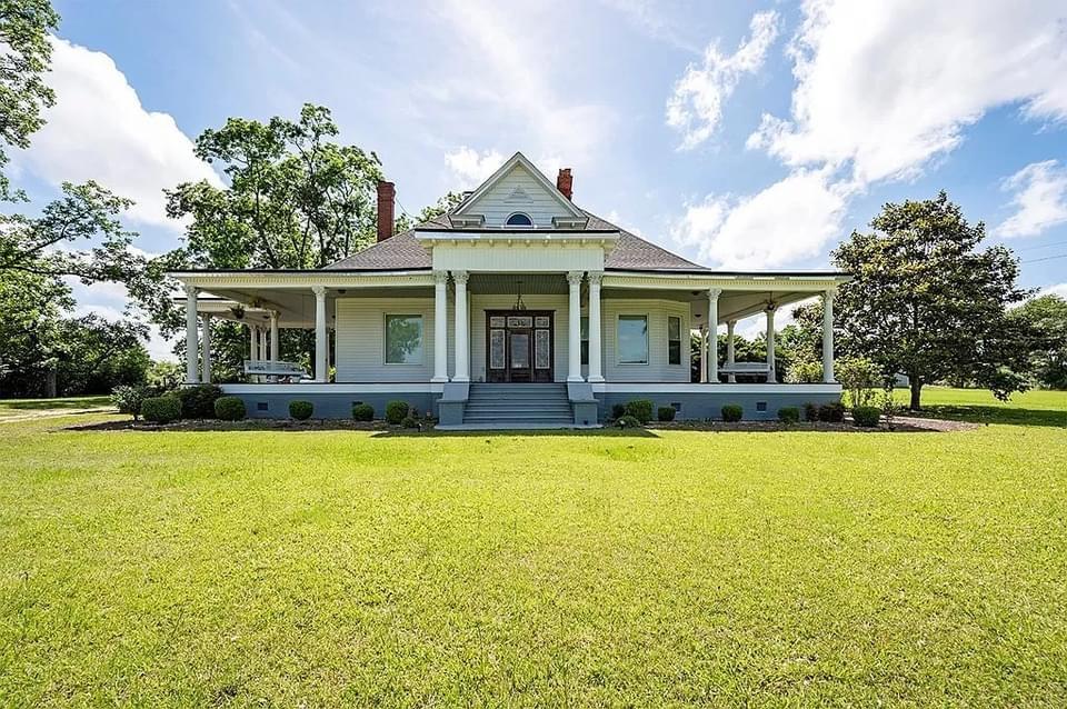 1912 Sutton House For Sale In Edison Georgia